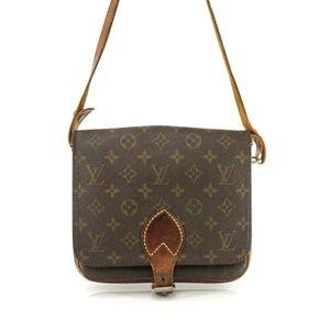 Auth Louis Vuitton Cartouchiere Mm Bag #960L14